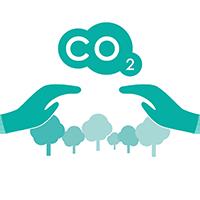 Reduce CO2 with Sunpad